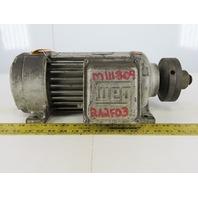 WEG RHSA3-36-80S 3Hp Electric /Saw Motor 208-230/460V 3Ph 80S/MS Frame 3500 RPM