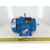 Baldor EM3664T 2Hp Electric Motor 230/460V 3Ph 184T Frame 1165 RPM