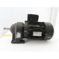 Nord SK 01 F Inline Metric Gearbox Speed Reducer 400V 50Hz 9.41:1 Ratio