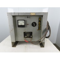 Ferro K1-3949-6-24483DA 240/480V Input LA 6 Cell 12 VDC Output Battery Charger