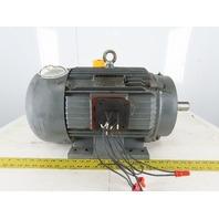 IEM WWE10-12-256T 10Hp Electric Motor 230/460V 3Ph 256T Frame 1180 RPM