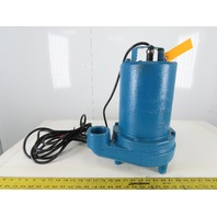 Barns Crane 105058 EH512L Submersible Effluent Pump 1/2HP 115V 1PH