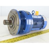 Sumitomo CNVM1-6120YC-51 1HP Inline Gear motor 230/460V 3Ph 51:1 Ratio
