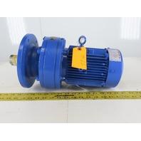 Sumitomo CNVM1-6120YC-51 PA193555 1HP Inline Gear Motor 230/460V 3Ph 51:1 Ratio