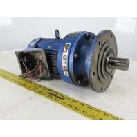 Sumitomo PA193555 CNVM1-6120YC-51 1HP Inline Gear motor 230/460V 3Ph 51:1 Ratio