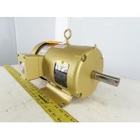Baldor EM3611 3Hp Electric Motor 208-230/460V 3Ph 182T Frame 1760 RPM