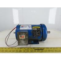 Baldor BM3554T 1-1/2Hp Electric Motor 208-230/460V 3Ph 145T Frame 1740 RPM