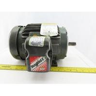 Baldor M3583T 1-1/2Hp Electric Motor 230/460V 3Ph 143T Frame 3450 RPM
