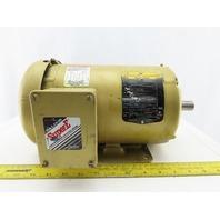 Baldor EM3558T 2Hp Electric Motor 208-230/460V 3Ph 145T Frame 1755 RPM