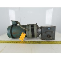Boston Gear F721-40-B5-G 3/4Hp Gear/Brake Motor 230/460V 3Ph 40:1 Ratio