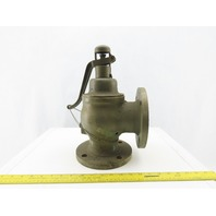 "Kunkle Fig.M23A Safety Relive Valve 3"" Flanged or NPT 135LBS 2267CFM"
