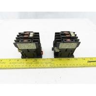 Telemecanique LC1-D093 Contactor 200-220V 50/60Hz 20A 3 PH Lot of 2
