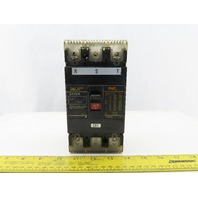 Fuji Electric SA103B Circuit Breaker 3 Pole 75A 220VAC