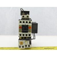 Fuji Electric SC-0 Contactor W/SZ-ZM2 W/ TR-0N 200-220V 20A 3 Ph