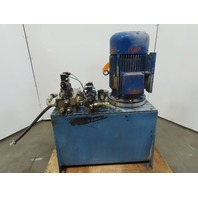 20Hp 40 Gallon Hydraulic Power Unit 415V 3Ph W/Valves
