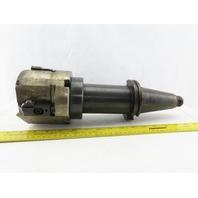 """Kennametal 5118-2282 CHG CAT 50 Shell Mill Tool Holder 6"""" Proj W/5"""" Boring Mill"""