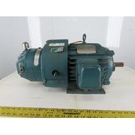 US Motors G47460W11W267R020F 3HP 460V 3Ph Wet Brake Electric Motor 215 1177RPM
