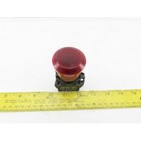 Allen Bradley 800E-3X01/A Red Push Pull E-stop
