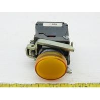 Schneider Electric ZBV-BG5 24-120V Yellow Indicator Light