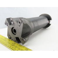 """Kennametal 282353R00 CAT 50 Tool Face Mill Holder 8"""" Projection & 4"""" Shell Mill"""