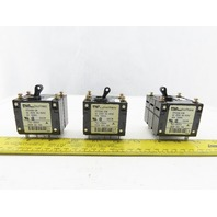 Fuji CP33EM/30W CP32EM/20W 250V 20A 30A 5A Circuit Protector Lot Of 3
