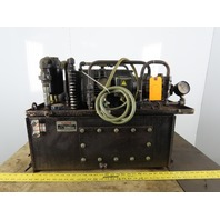 NACHI 2.2KW 15 Gallon Hydraulic Power Unit W/VDR-11B-1A3-1A3-U-6117C Pump