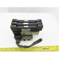 SMC VZS3650-5FZ Pneumatic Vale Manifold Block W/VVZS3000-22A