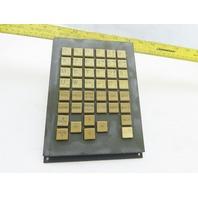 Fanuc A02-B-0281-C120/TBR MDI Unit Control Keyboard Interface