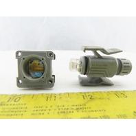 Phoenix Contact VS-RJ45/IP67 Ethernet Connector Male Cord Set Female Cabinet