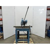 """CTD F416 16"""" 208-230/460V 1760RPM Manual Chop Miter Steel Cutoff Saw"""
