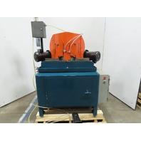 """14"""" 3Hp 208-230/460V 45° Double Miter Notch Frame Saw"""