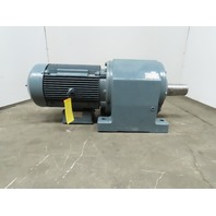 SEW-EURODRIVE 850047037.98.98.001 In-Line Gear Box 57.42 RPM 30.65:1 Ratio 23Kw