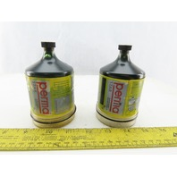 Perma Star M120 120cm3 Lubrication System Grease Cartridge Pot Lot Of 2