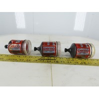 Perma Star M120 860/220 120cm3 Lubrication System Grease Cartridge RED Lot Of 3