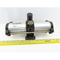 SMC VBA2100-03GN Air Pneumatic Booster Regulator Parts or Repair