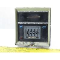 Eagle Signal CT5302A6 4 Digit Second Timer 120V 60Hz