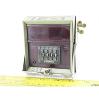Eagle CT511A601 4 Digit LED Reset Counting Relay 120VAC