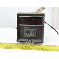 Eagle CT531A6 120V 4 Digit LED Reset Digital Counter Timer