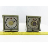 Eagle Signal HP515A6 120V 60Hz 0-10 Second Dial Timer Lot Of 2