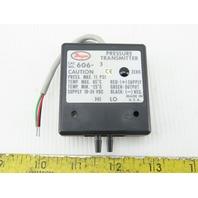 Dwyer 606-3 18-24 VDC Pressure Transmitter
