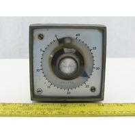 ATC 305D011A10PX 120V 60Hz 0-40 Count Impulse Reset Counter