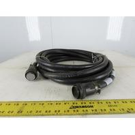 Nachi NAC-F100W-CNR1-10M 16AWG 30C Multi Conductor Robotic Control Cable 30'