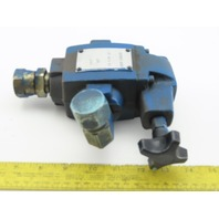 Vickers 590536 J02S CT 06 B 50 Hydraulic Relief Valve-Manual Actuation