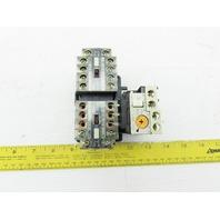 Fuji SJ-0G Reversing Magnetic Contactor 440V Coil 24V W/TK-0NY Relay
