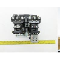 Allen Bradley 505-B0*-23/C 3PH 3-5Pole 27A 115-120V Reversing Starter Series C