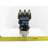 Allen Bradley 509-CO*-E1+/E Starter 45A Max 3PH 3 Pole 115-120V Series E