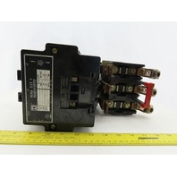 Square D 8356-SF0-1 Ser A Size 4 Motor Starter Contactor 120V Coil 600A
