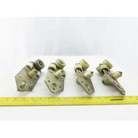 Festoon C-Channel Rail Trolley Truck Lot of 4 See Description