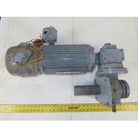"Duff Norton M10005-1218B 208-230/460V 2Hp Motor  5"" Lift  5:1 Linear Actuator"