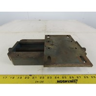 "Heavy Custom Motor Machine Mount Slide Bracket 8-3/4"" x 6"""
